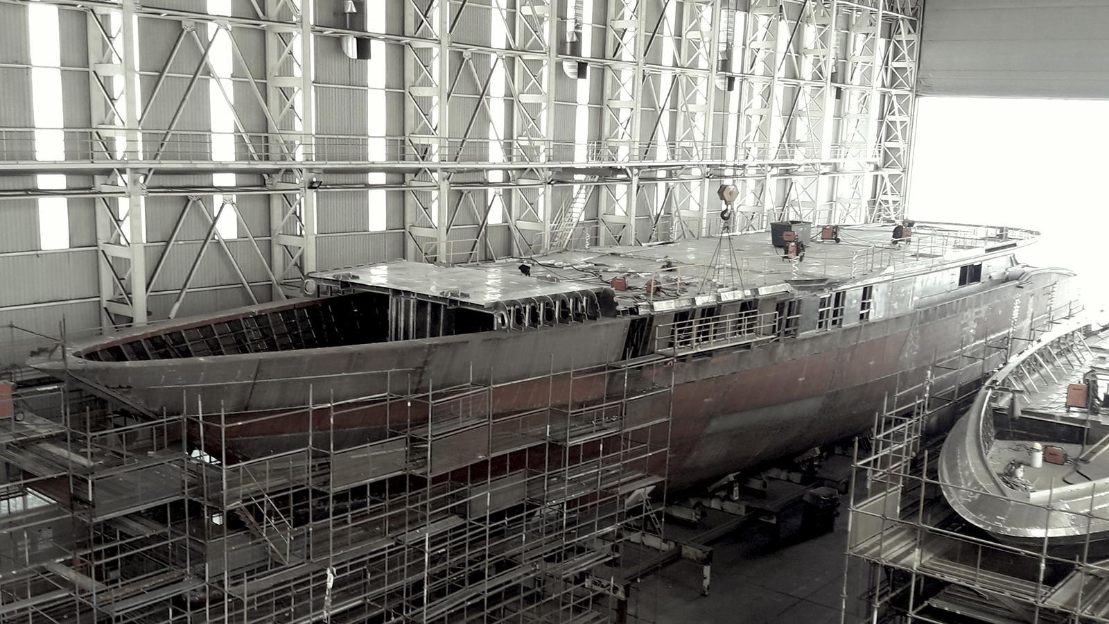 turquoise 74m motoryacht turquoise yachts 74m 2019 under construction