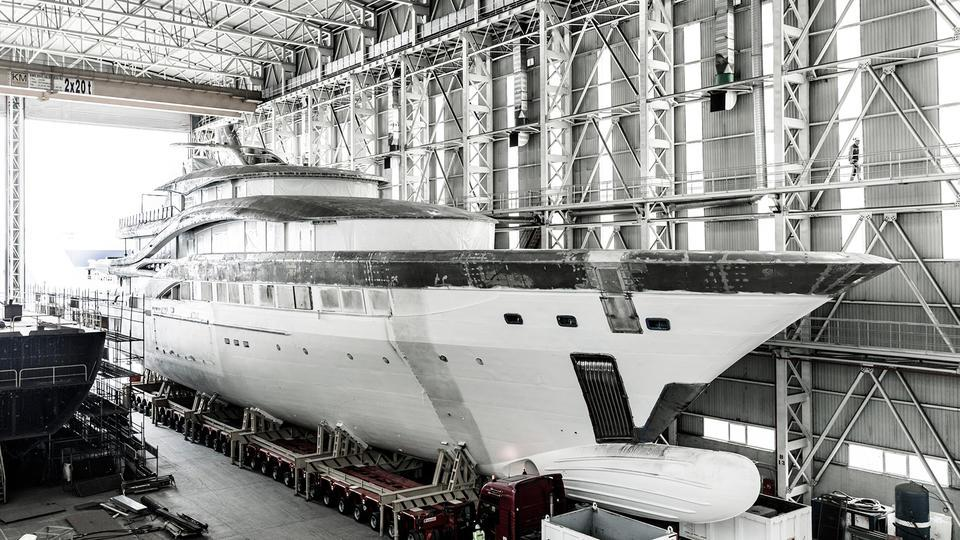 go motoryacht turquoise yachts nb63 77m 2018 under construction