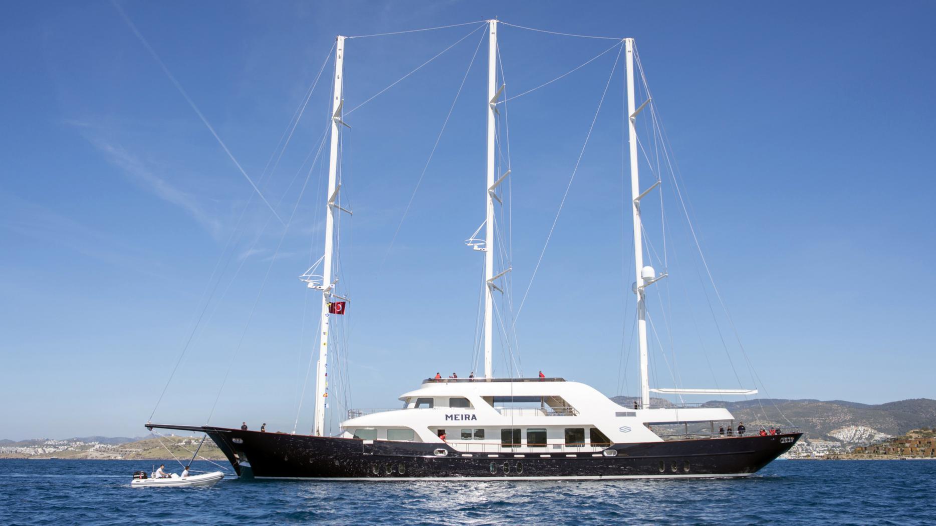 meira motorsailer yacht neta marine 55m 2018 launch profile