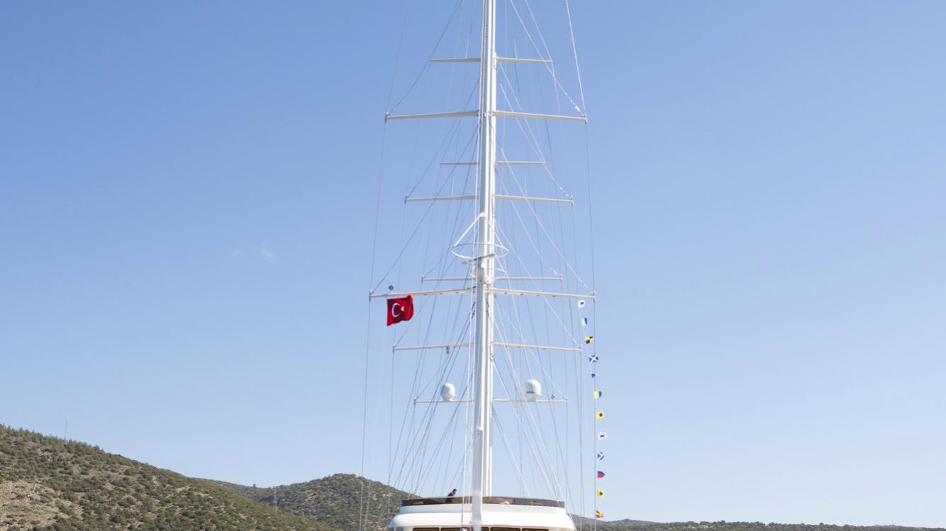 meira motorsailer yacht neta marine 55m 2018 launch bow