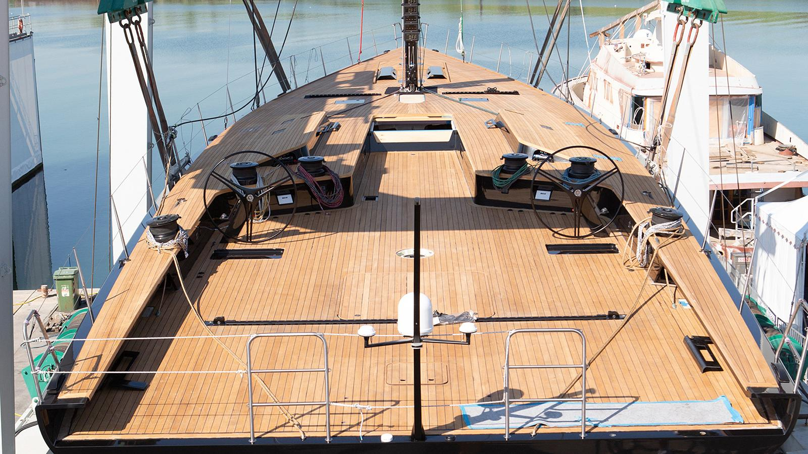 nahita wally 93 sailing yacht 2018 28m launch deck