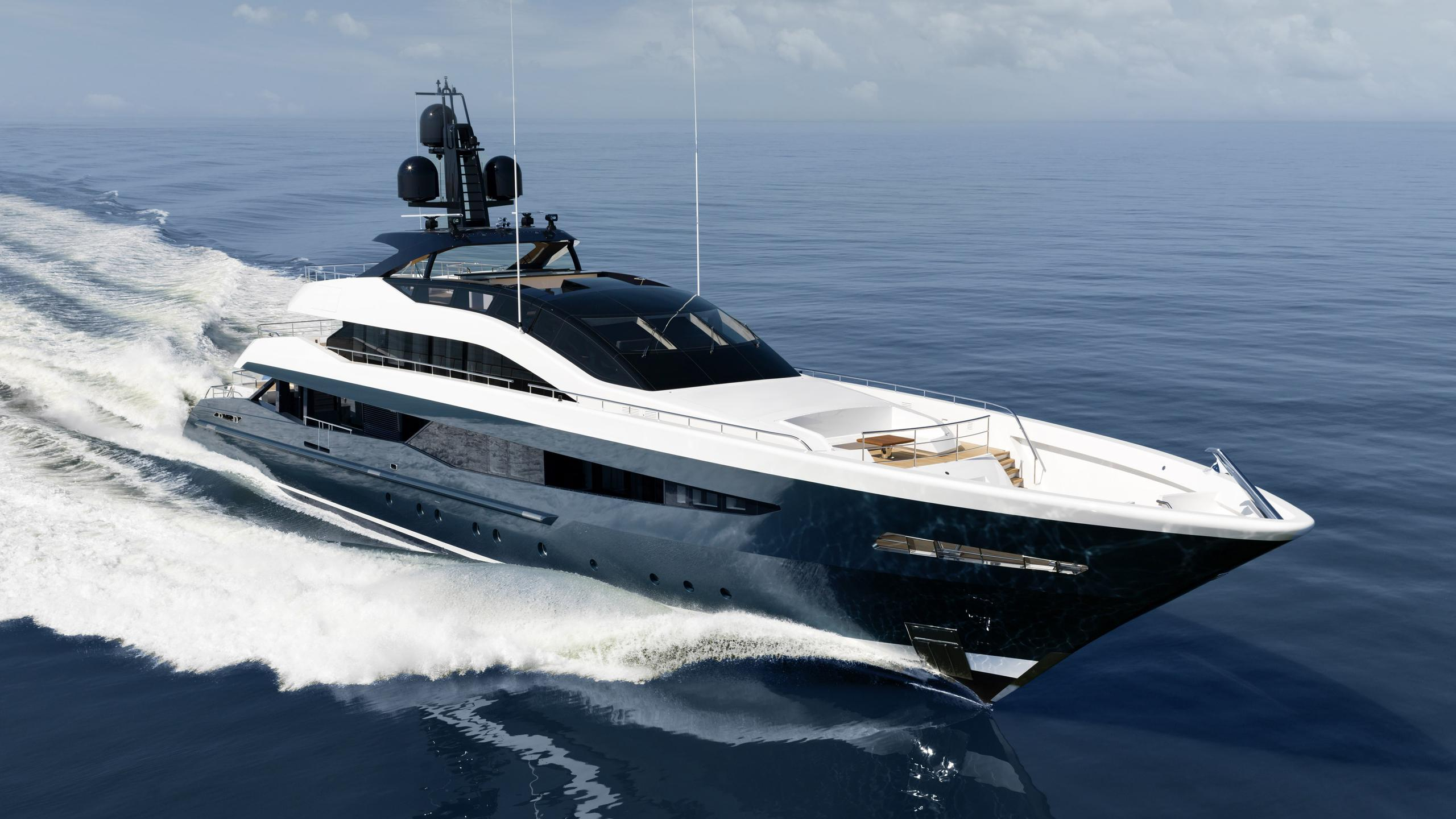 irisha 18151 motoryacht heesen yachts 2018 51m sea trials half profile