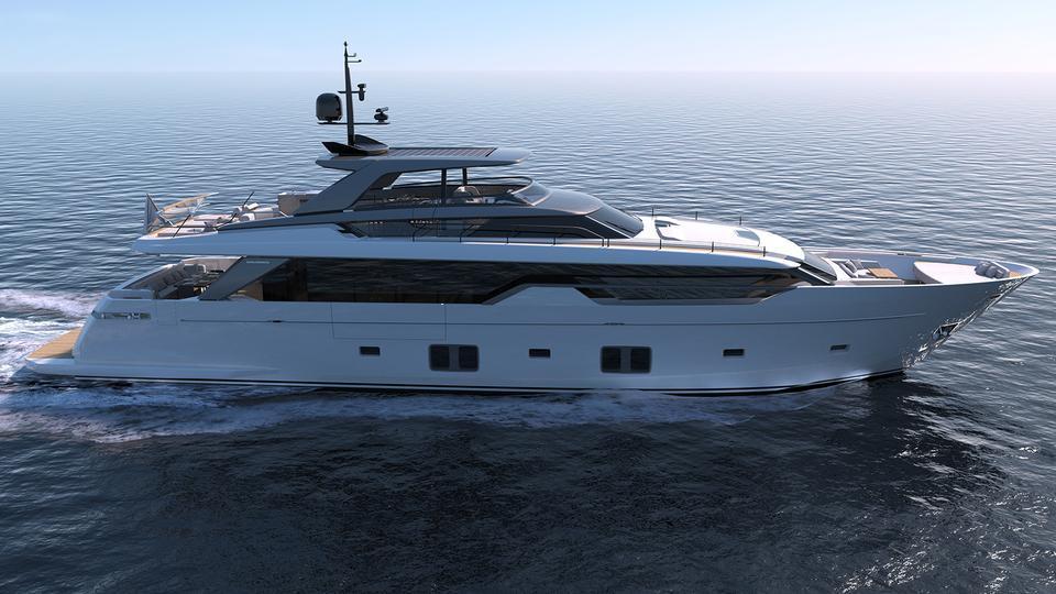 SL102 motoryacht sanlorenzo 31m 2020 side profile sistership