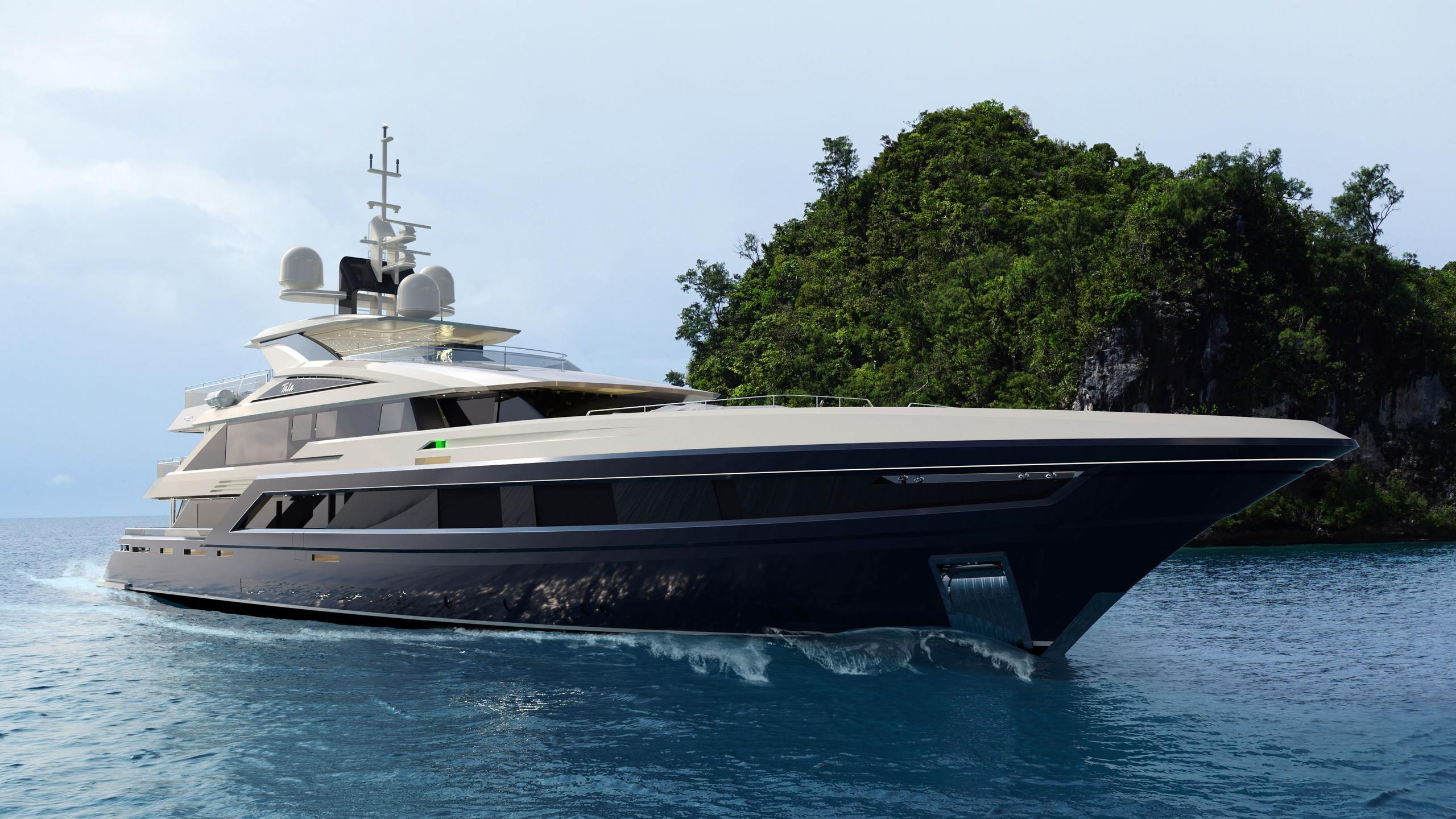 tala motoryacht turquoise yachts 53m 2020 rendering profile