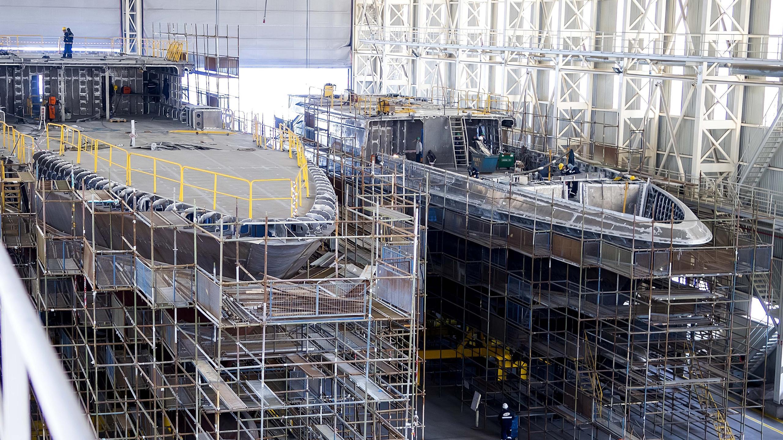 tala motoryacht turquoise yachts 53m 2020 under construction