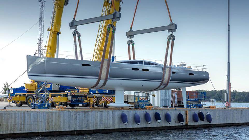 baltic 85 custom sailing yacht baltic yachts 26m 2018 launch