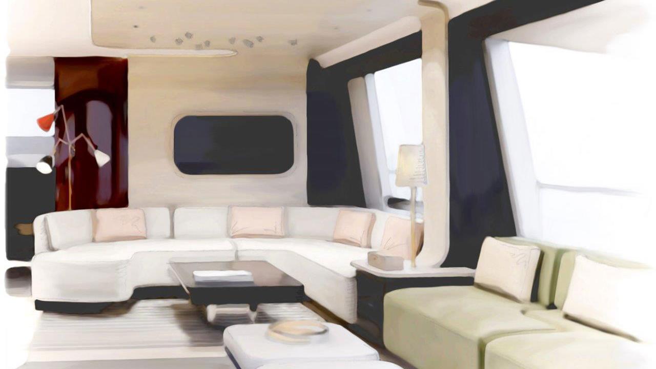 Grande 25 Metri motoryacht azimut yachts 27m 2018 saloon sistership