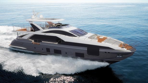 Grande 27 Metri motoryacht azimut yachts 27m 2018 half profile sistership