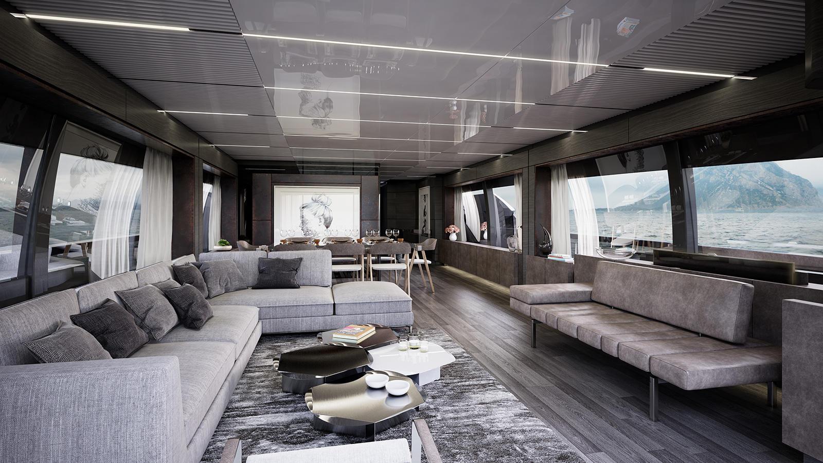 Ferretti 920 motoryacht Ferretti 29m 2018 saloon sistership