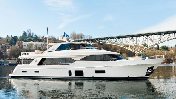 Ocean Alexander 100 motoryacht ocean alexander 31m 2020 side profile sistership