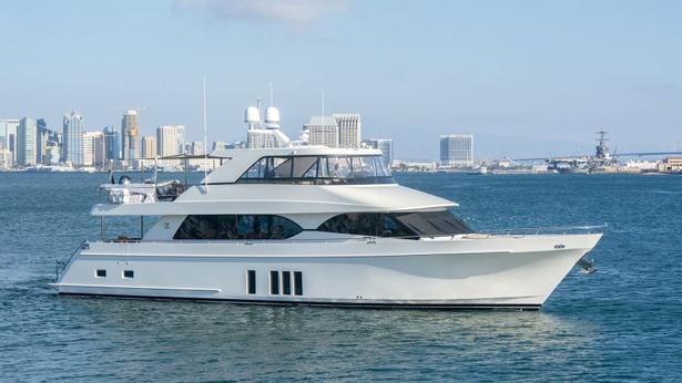 Ocean Alexander 85 motoryacht ocean alexander 26m 2018 side profile sistership