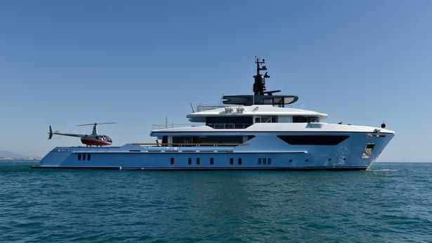 Sanlorenzo 500EXP motoryacht sanlorenzo 46m 2021 side profile sistership