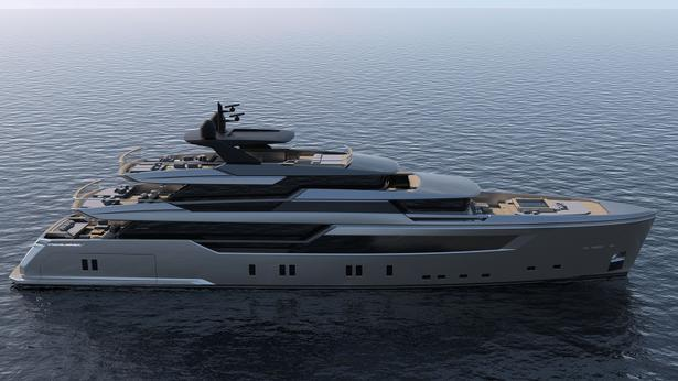 sl-44 alloy motoryacht sanlorenzo 44m 2020 side profile sistership