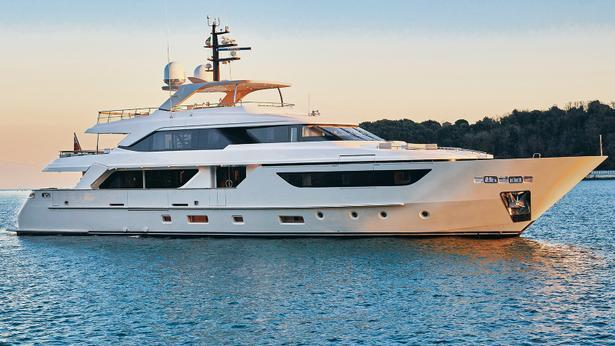 SD126 motoryacht sanlorenzo 38m 2020 side profile sistership