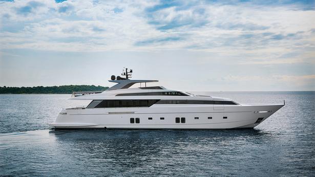 SL118 motoryacht sanlorenzo 37m 2019 side profile sistership