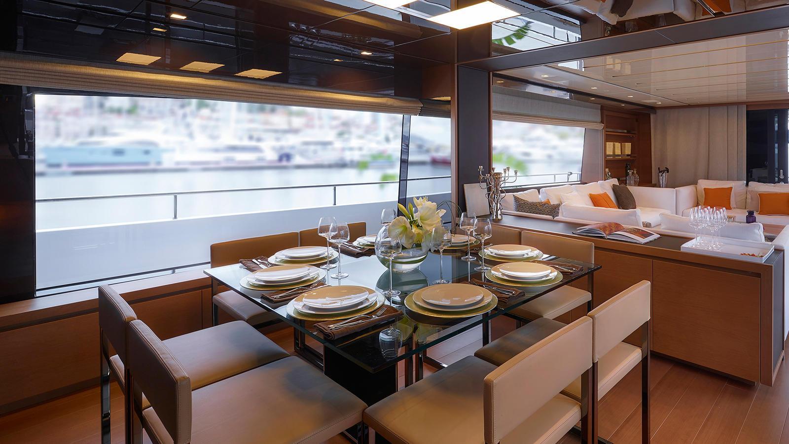 SL86 motoryacht sanlorenzo 27m 2019 saloon sistership