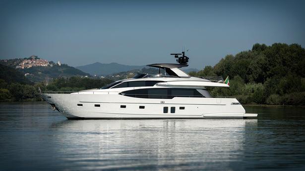 SL78 motoryacht sanlorenzo 25m 2019 side profile sistership
