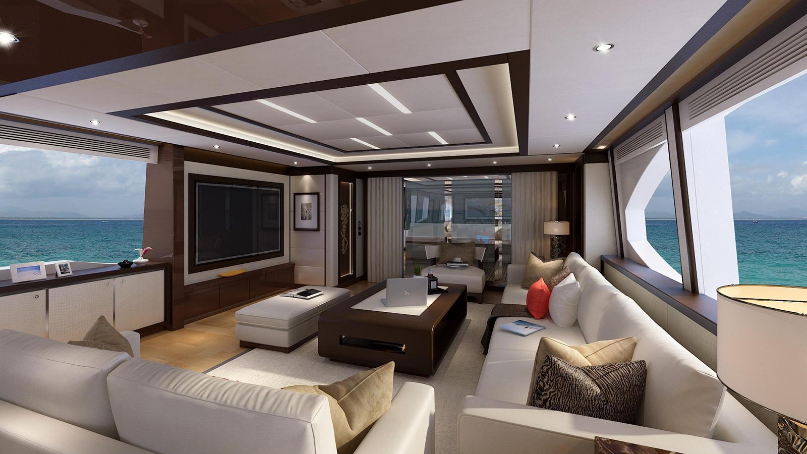 Asteria 108 motoryacht HeySea Yachts 33m 2019 saloon sistership