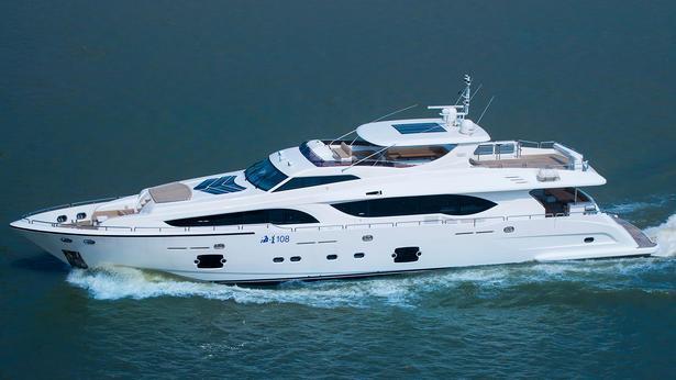 Asteria 108 motoryacht HeySea Yachts 33m 2020 side profile sistership