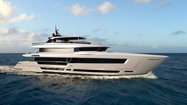 HeySea 139 motoryacht HeySea 42m 2019 side profile sistership