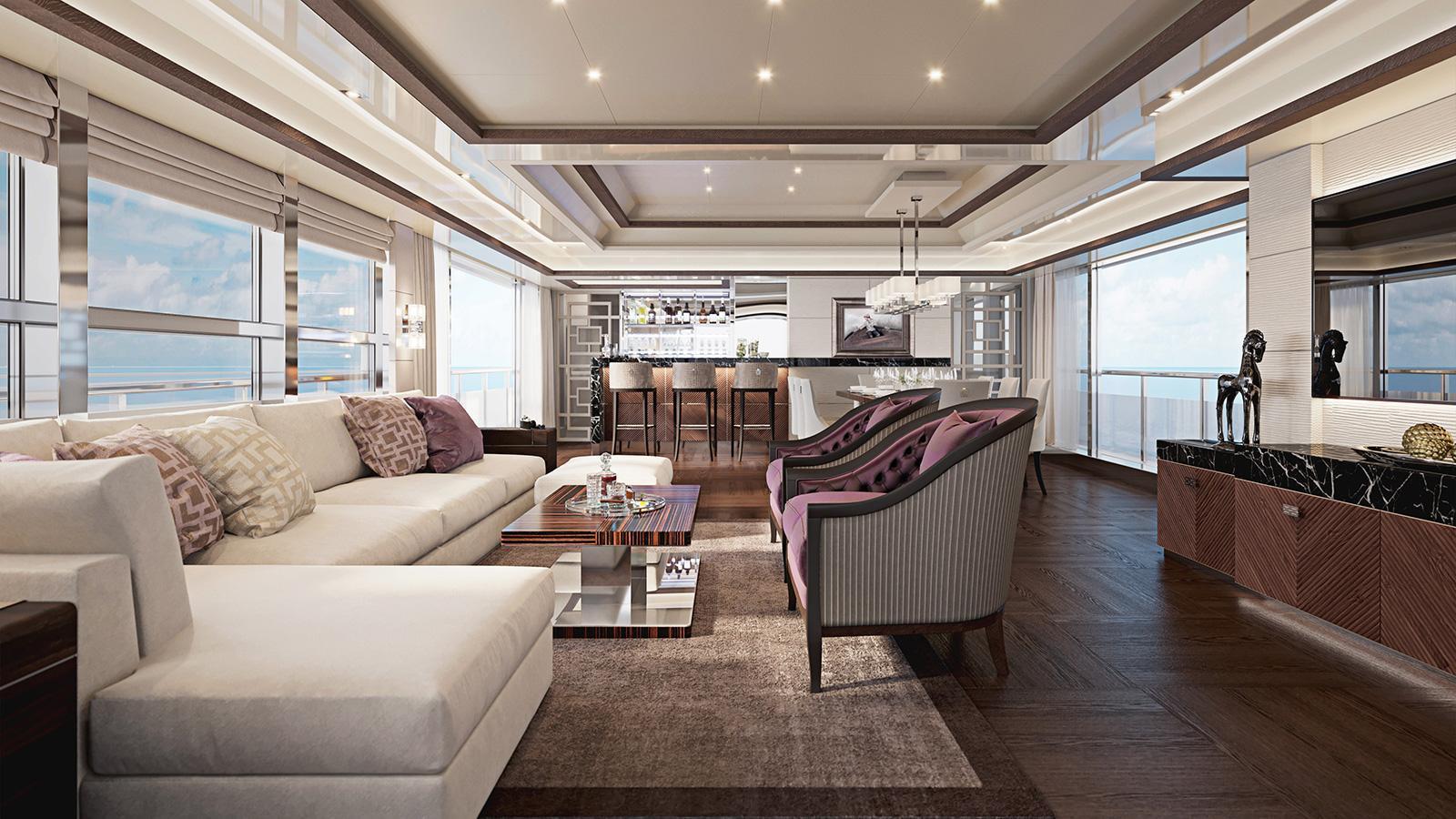 HeySea 115 motoryacht HeySea Yachts 35m 2020 saloon sistership