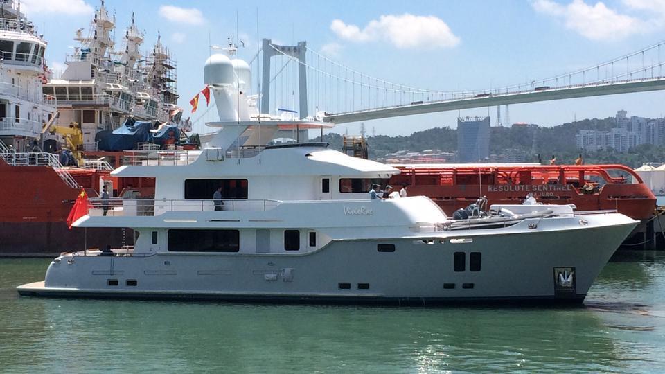 Nordhavn 96 motoryacht South Coast Marine 29m 2021 side profile sistership