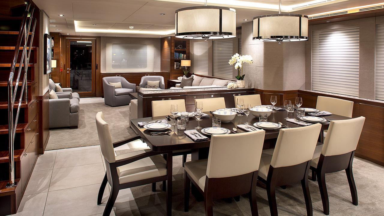 Nordhavn 96 motoryacht South Coast Marine 29m 2021 saloon sistership