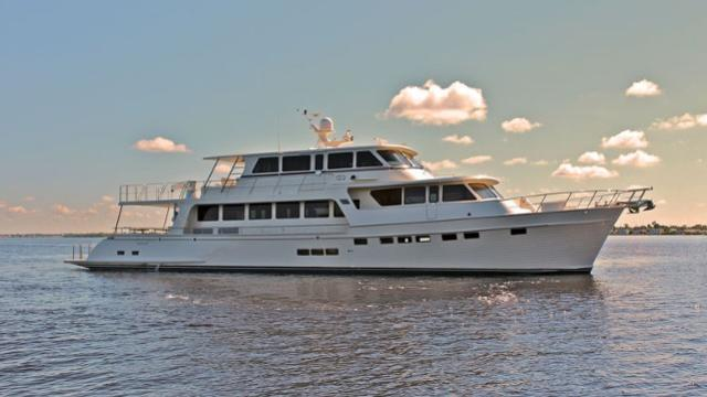 Marlow 97E motoryacht Marlow Yachts 30m 2019 side profile sistership