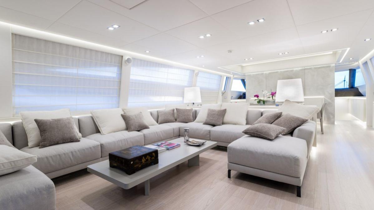 AB 116 motoryacht AB yachts 36m 2020 saloon sistership