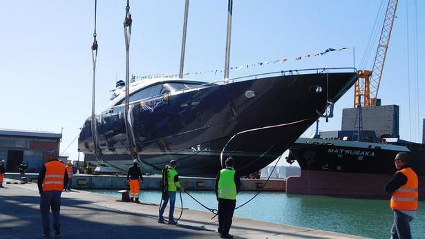 AB 100 motoryacht AB yachts 31m 2020 launch sistership