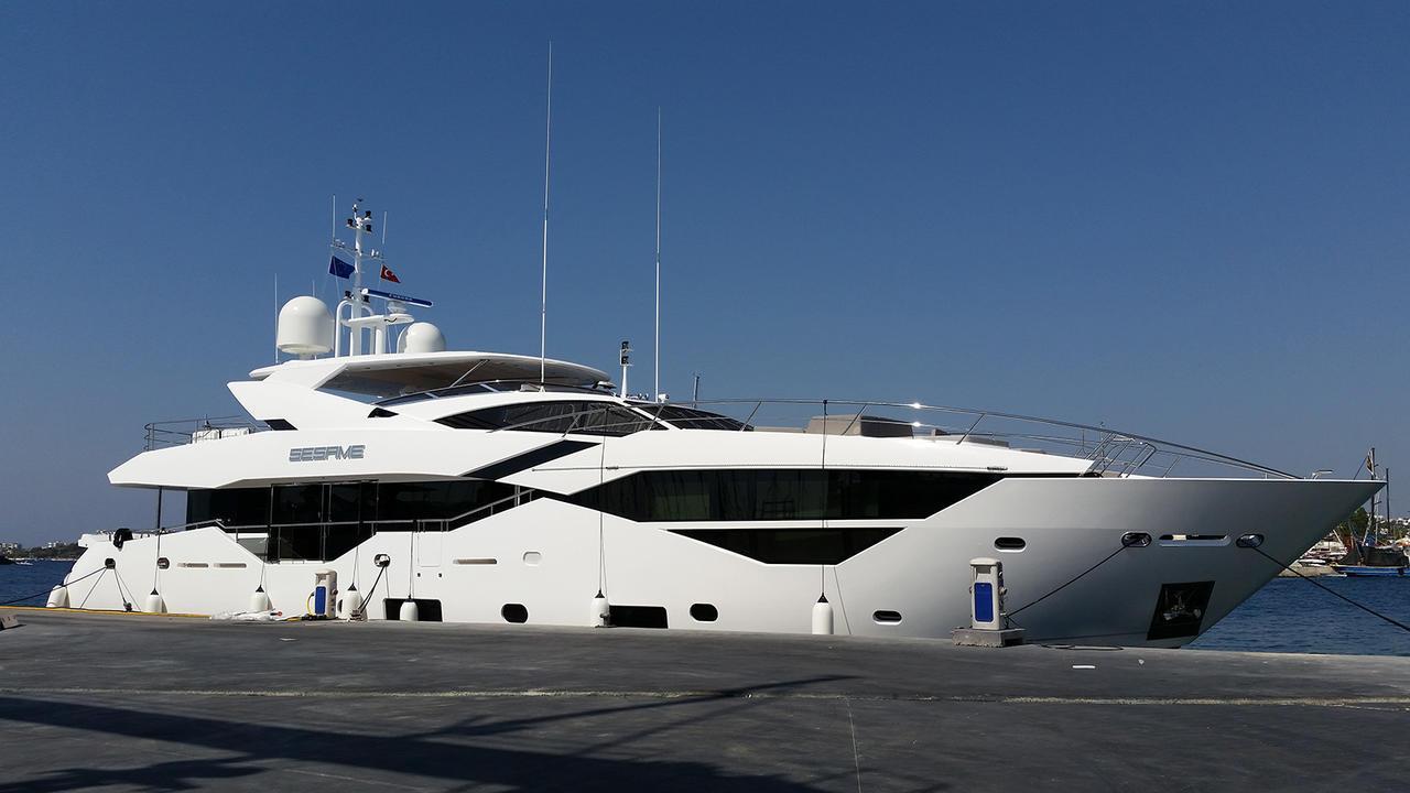 Sunseeker 116 motoryacht Sunseeker 35m 2018 side profile sistership