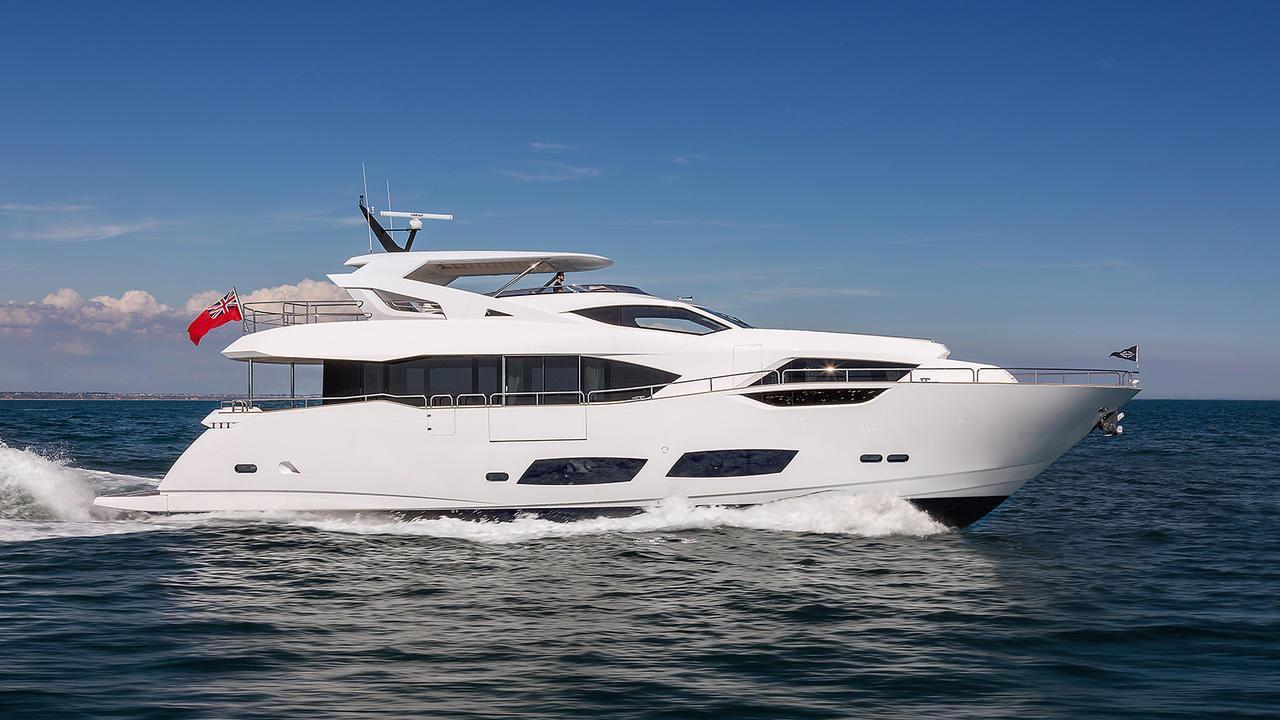 Sunseeker 95 motoryacht Sunseeker 28m 2019 side profile sistership