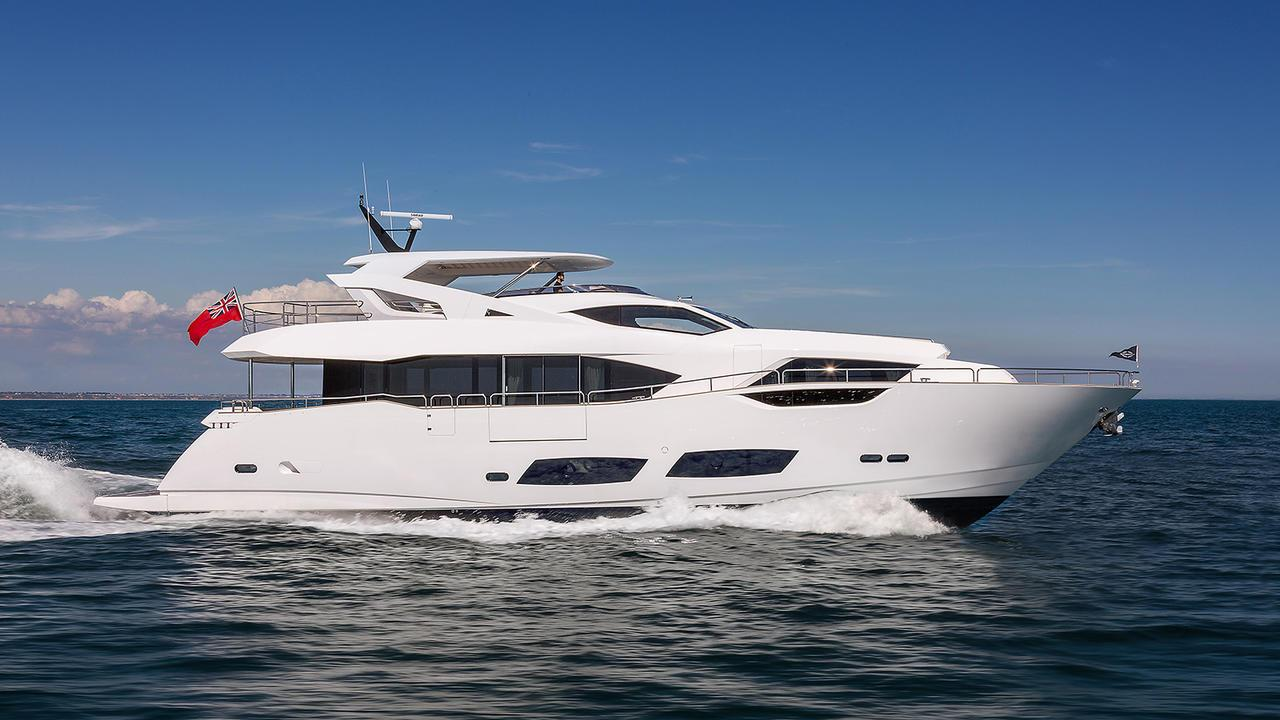 Sunseeker 95 motoryacht Sunseeker 28m 2019 side profile sistership