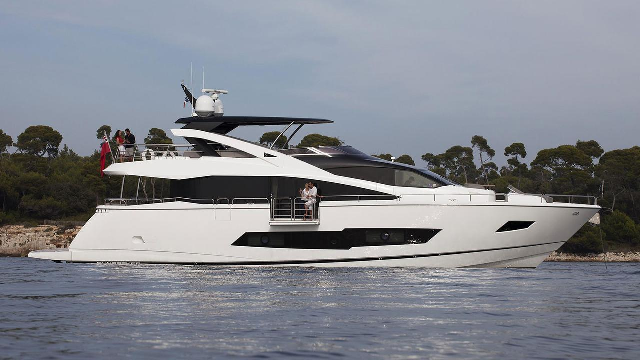 Sunseeker 86 motoryacht Sunseeker 26m 2019 side profile sistership