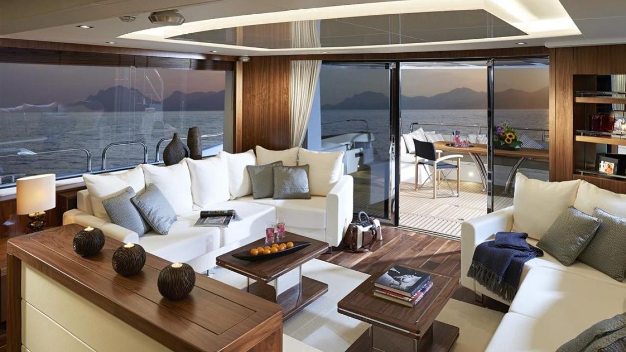 Sunseeker 86 motoryacht Sunseeker 26m 2019 saloon sistership