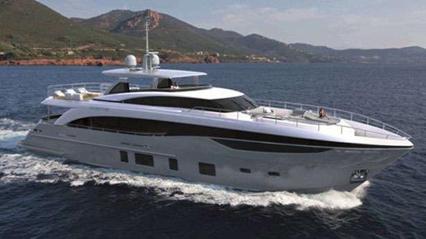 Princess 35M motoryacht Princess 35m 2019 side profile sistership