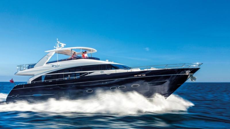 Princess Y88 motoryacht Princess 27m 2019 side profile sistership