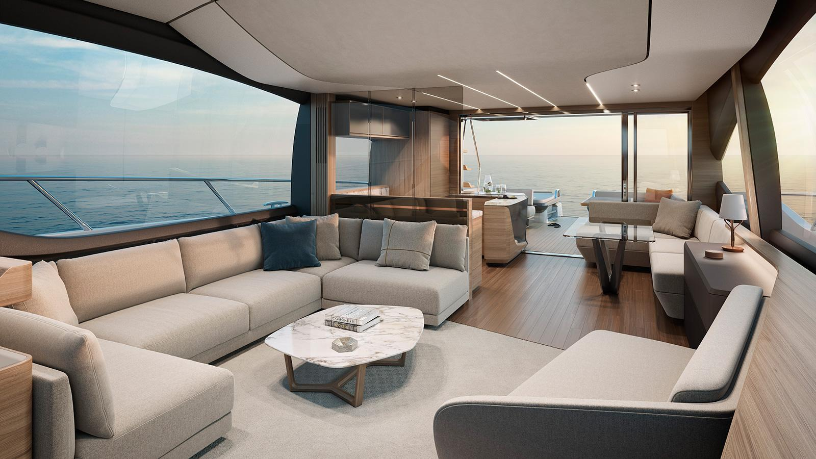 Princess S78 motoryacht Princess 24m 2019 saloon sistership