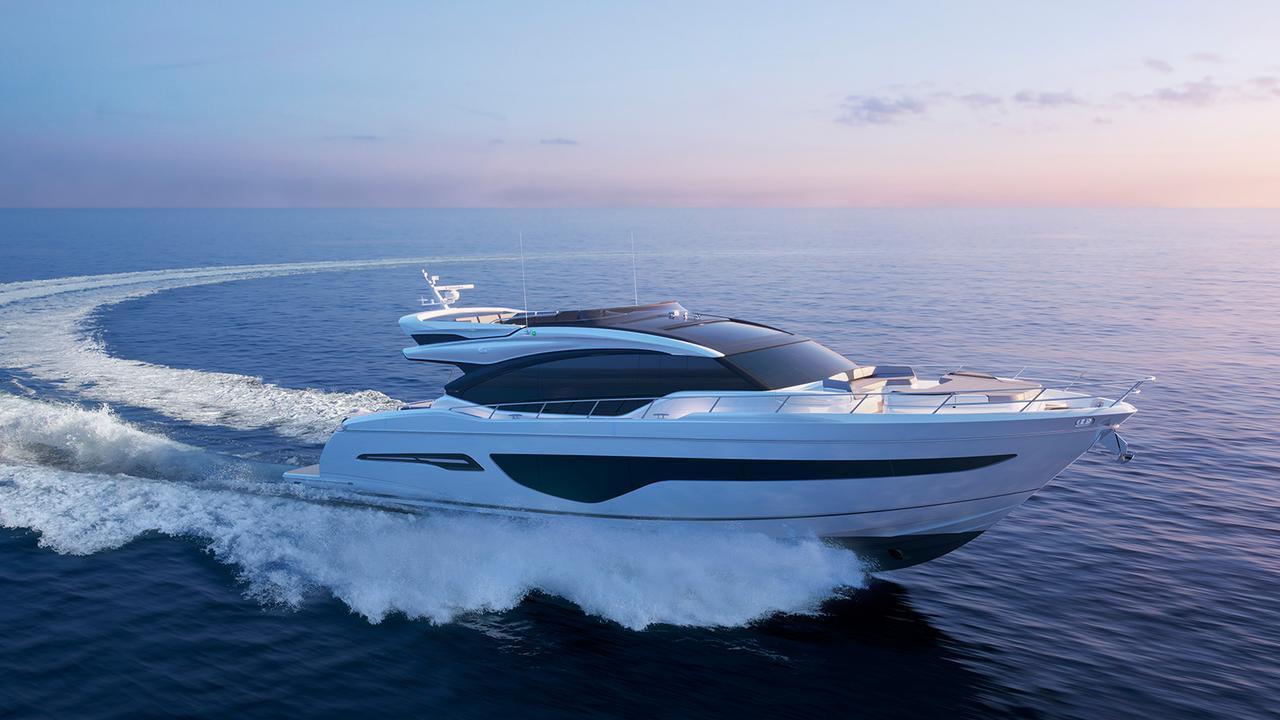 Princess S78 motoryacht Princess 24m 2019 side profile sistership