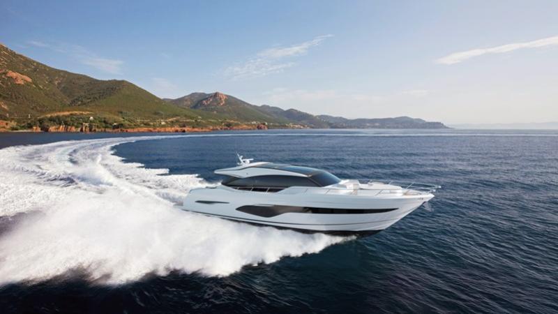Princess V78 motoryacht Princess 24m 2019 side profile sistership