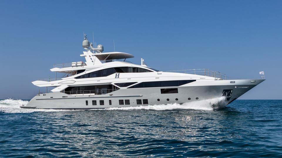 Benetti Fast 140 motoryacht Benetti 43m 2019 side profile sistership