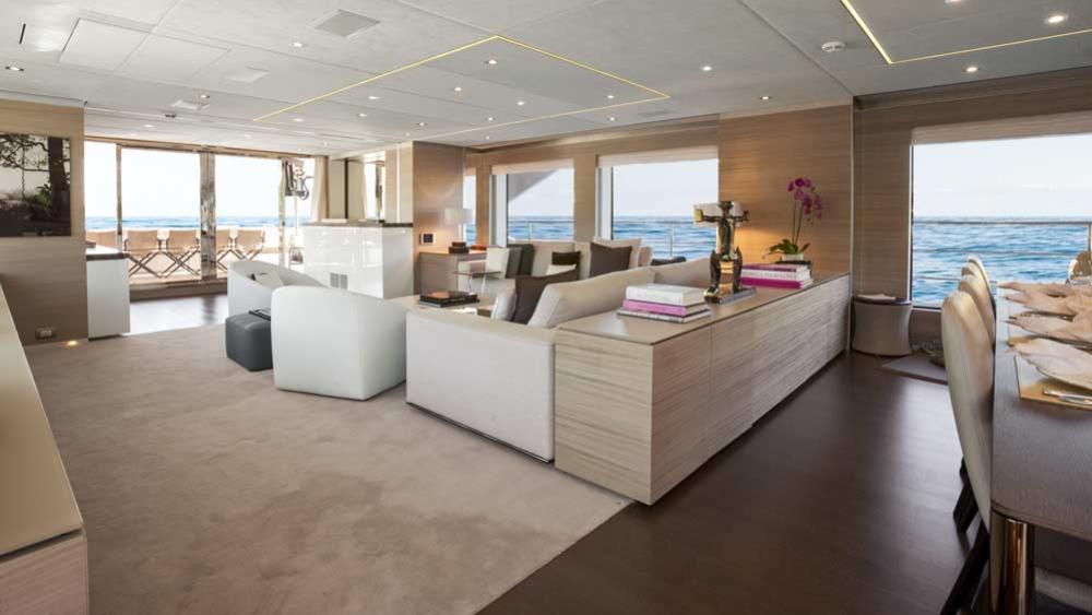 Benetti Fast 140 motoryacht Benetti 43m 2019 saloon sistership