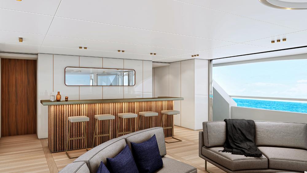 BO101 motoryacht Benetti 40m 2020 saloon sistership