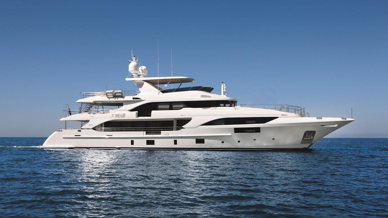 Benetti Supreme 132 motoryacht Benetti 40m 2020 side profile sistership