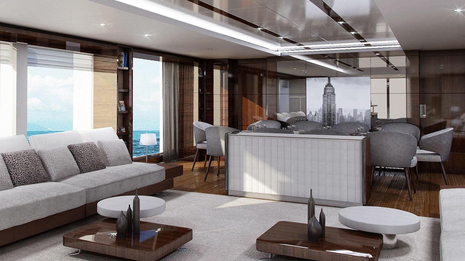 Benetti Supreme 132 motoryacht Benetti 40m 2020 saloon sistership