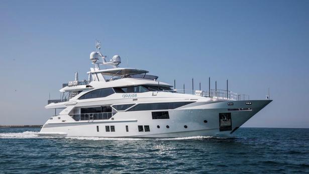 Benetti Fast 125 motoryacht Benetti 38m 2019 half profile sistership
