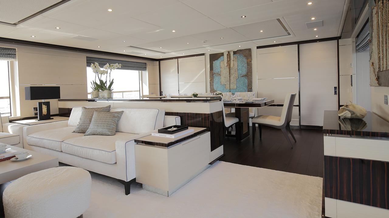 Benetti Fast 125 motoryacht Benetti 38m 2020 saloon sistership