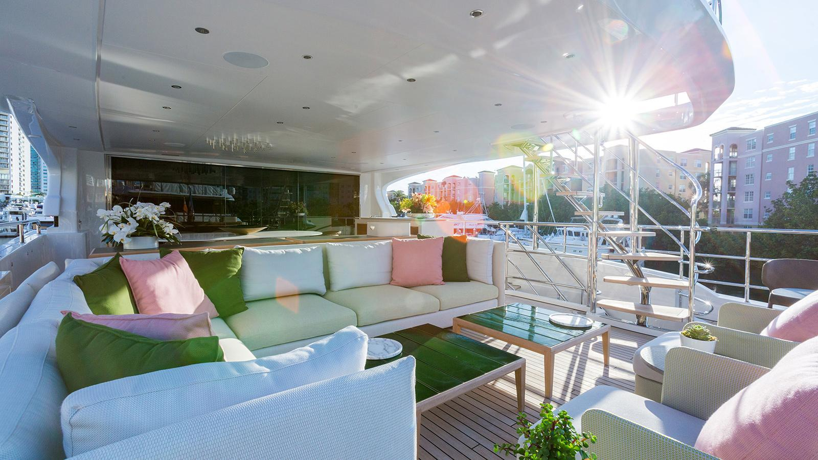 Mediterraneo 116 motoryacht Benetti 35m 2019 deck sistership