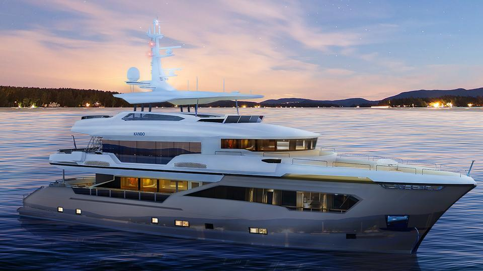 kando motoryacht ava yachts 35m 2019 rendering