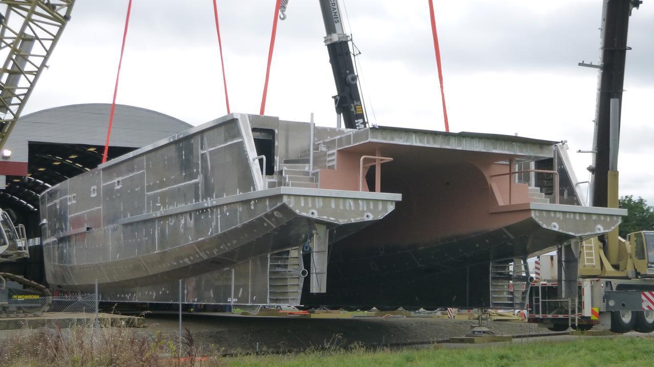 the beast motoryacht profab 39m 2019 hull
